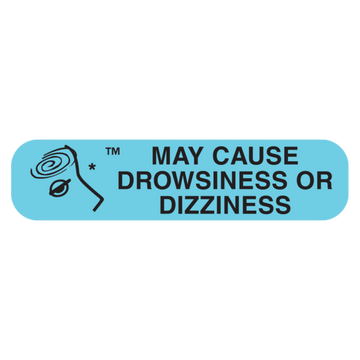 """DROWSINESS"" Label"