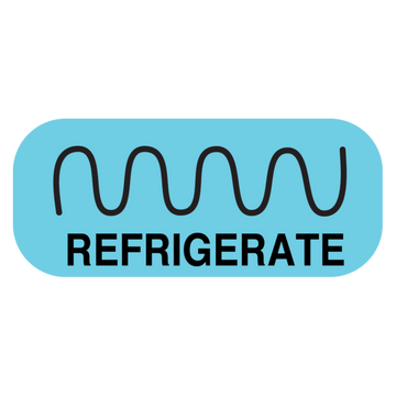 """REFRIGERATE"" Label"