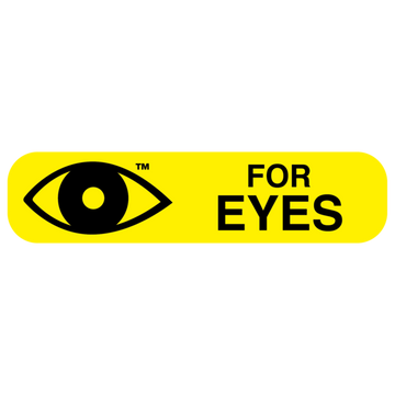 """FOR EYES"" Label"