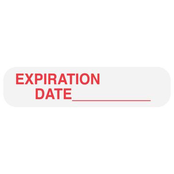 """EXPIRATION DATE"" Label"