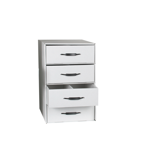 Rx Divided Drawer Storage File - 4 drawer