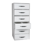 Rx Divided Drawer Storage File - 6 drawer
