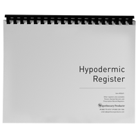Hypodermic & Needle Register