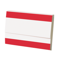 XL Red Heavyweight Rx File Folder