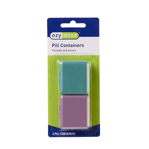 Pockettes® Pillbox - 2 containers