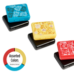 Patterned Color Pockettes® Pillbox - assorted colors