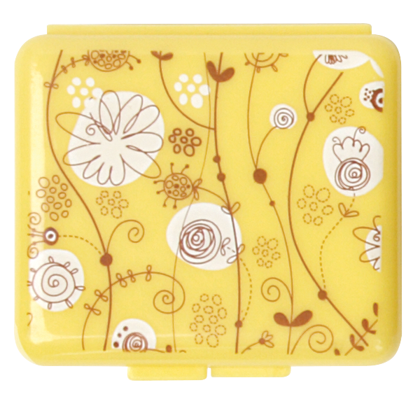 Pockettes® yellow floral