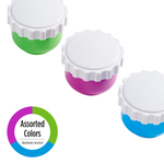3-Compartment Travel Vial assorted colors
