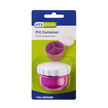 Ezy Dose® 3-Compartment Travel Vial