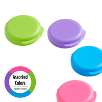 Daily Pill Containers in assorted colors