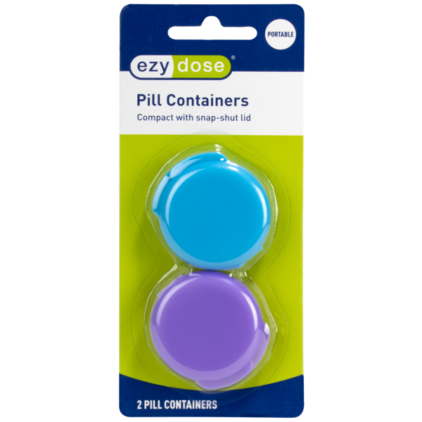 Daily Pill Container - 2 pack