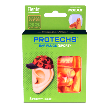 PROTECHS™ Ear Plugs for SPORT