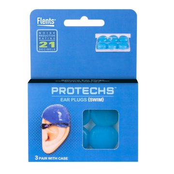 PROTECHS™ Ear Plugs for SWIM