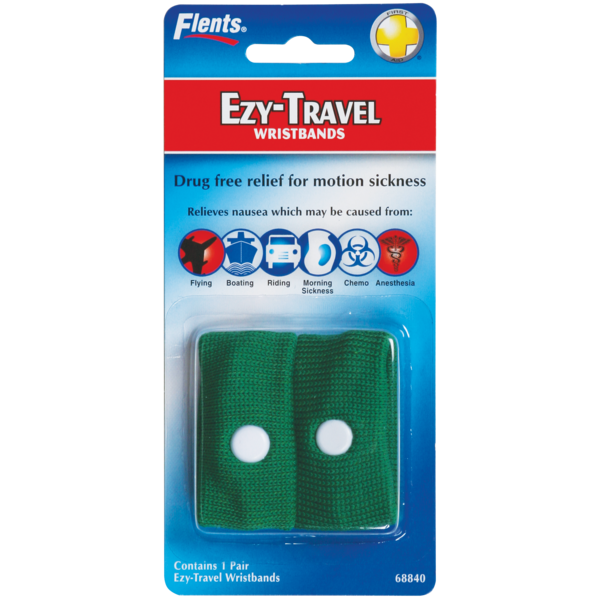 Ezy-Travel Wristbands package