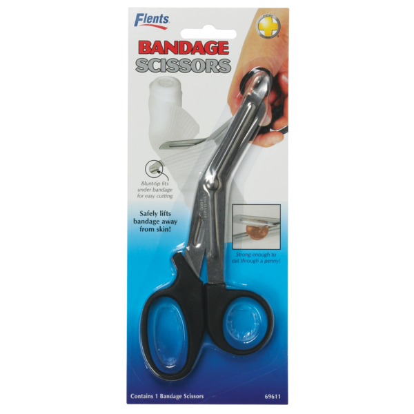 Bandage Scissors in package