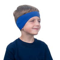 Blue Neoprene Headband