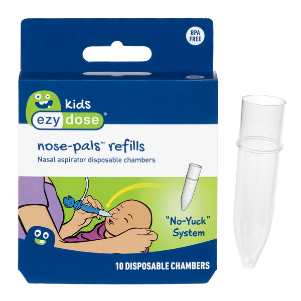 Ezy Dose® Kids Nose-Pals Nasal Aspirator - Refill Collection Chambers