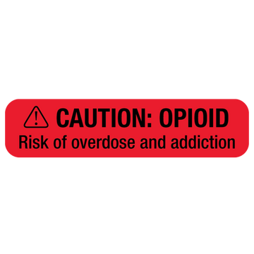 """OPIOID WARNING"" Label"