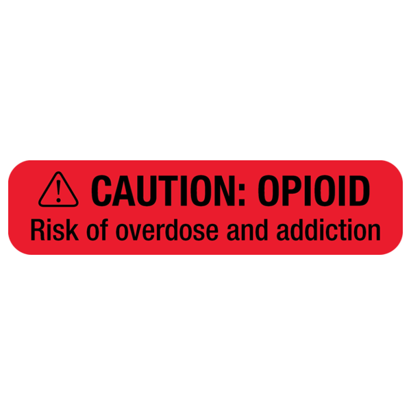 """OPIOID WARNING"" Medication Label"