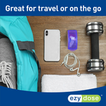 Weekly Travel Pill Pods are great for travel or on the go