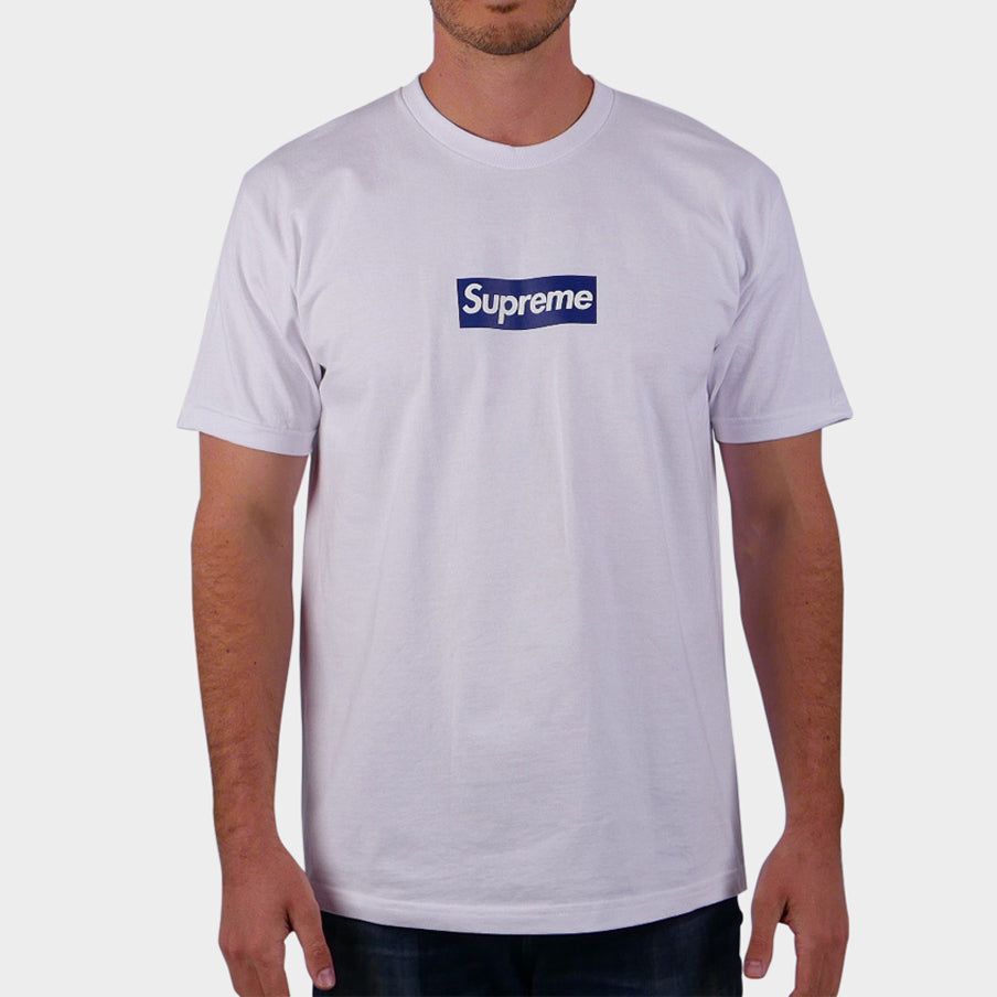 Yankees Box Logo Tee