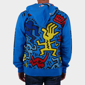 Keith Haring Shark Full-Zip Hoodie