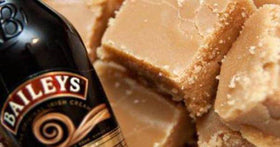 Baileys Sea Salt Caramel Fudge Box 170G