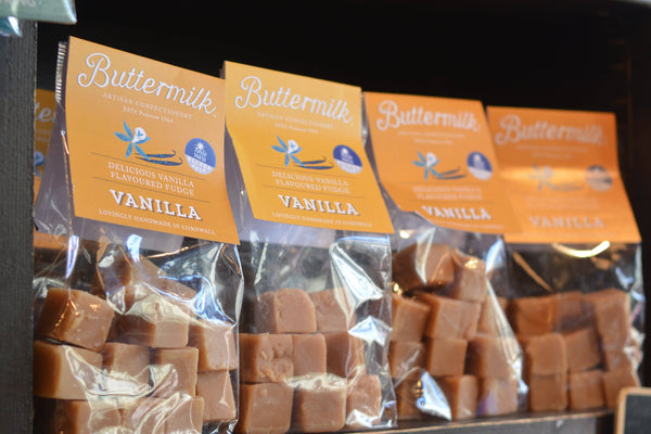 Buttermilk Vanilla Fudge