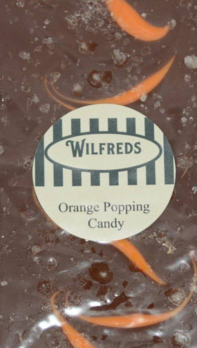 Orange Popping Candy Bar