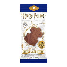 Harry Potter Chocolate Frog with collectable wizard card 0.55oz (15g)