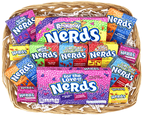 For The Love of Nerds Candy Hamper