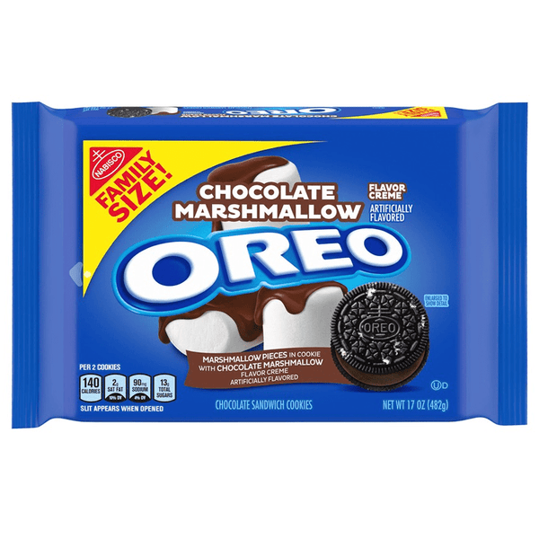 Oreo Chocolate Marshmallow Family Size - 17oz (482g)