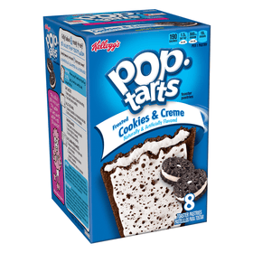 Pop Tarts - Frosted Cookies & Creme - 8 Pack 14.1oz (400g)