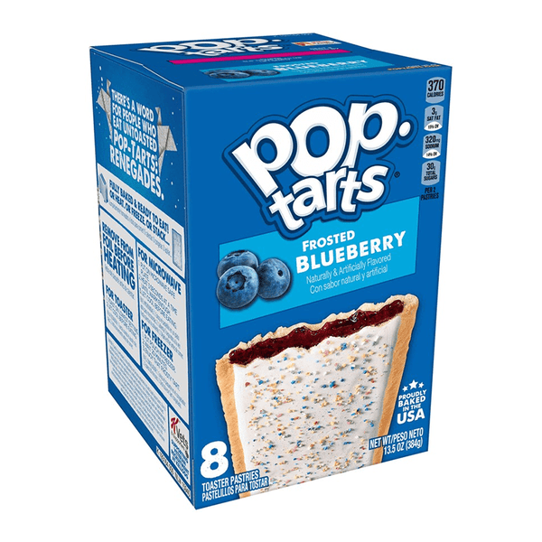 Pop Tarts Frosted Blueberry 8-Pack - 13.5oz (384g)