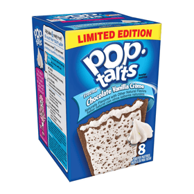 Pop Tarts Frosted Chocolate Vanilla Crème - 14.1oz (400g)