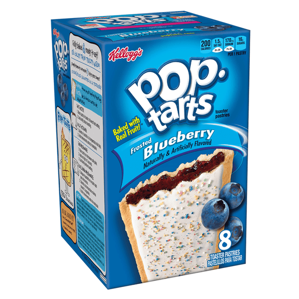 Pop Tarts Frosted Blueberry 8 Pack 14.7oz (416g)
