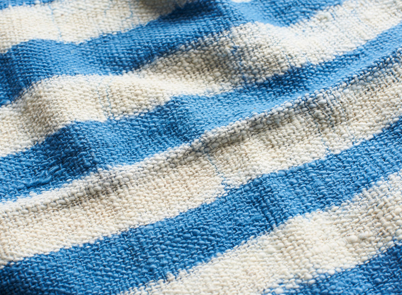 INDIGO STRIPE TOWEL