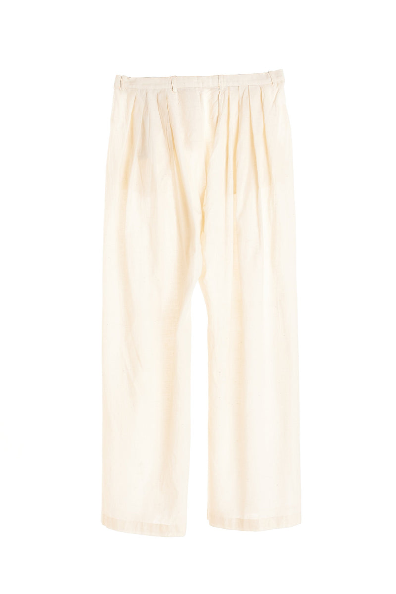 RELAXED FIT COTTON PANTS
