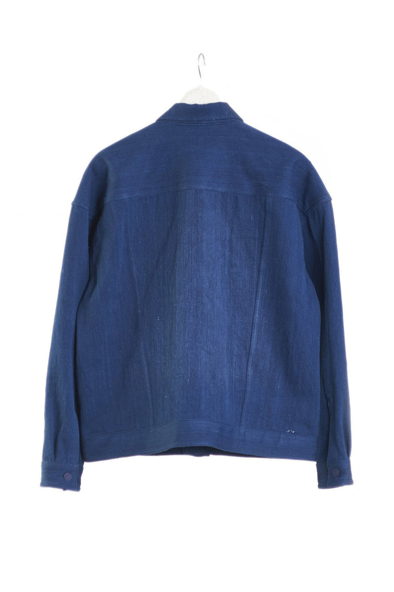 INDIGO OVERSIZED JACKET ORGANIC COTTON