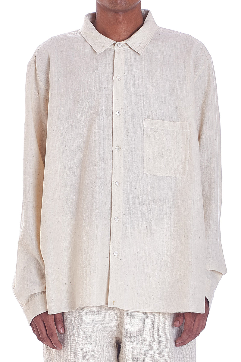 UNBLEACHED RELAXED FIT SHIRT