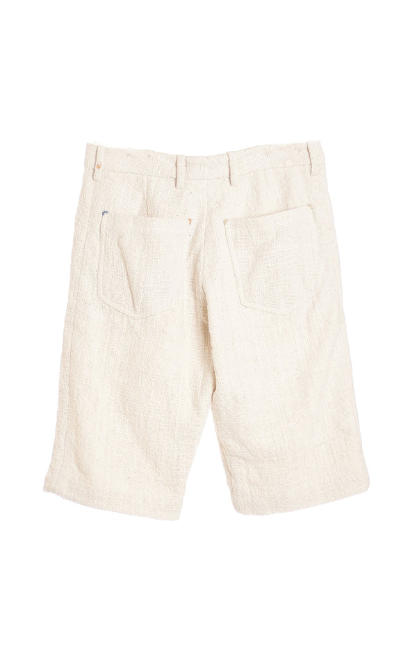 UNBLEACHED ORGANIC COTTON MENS SHORTS