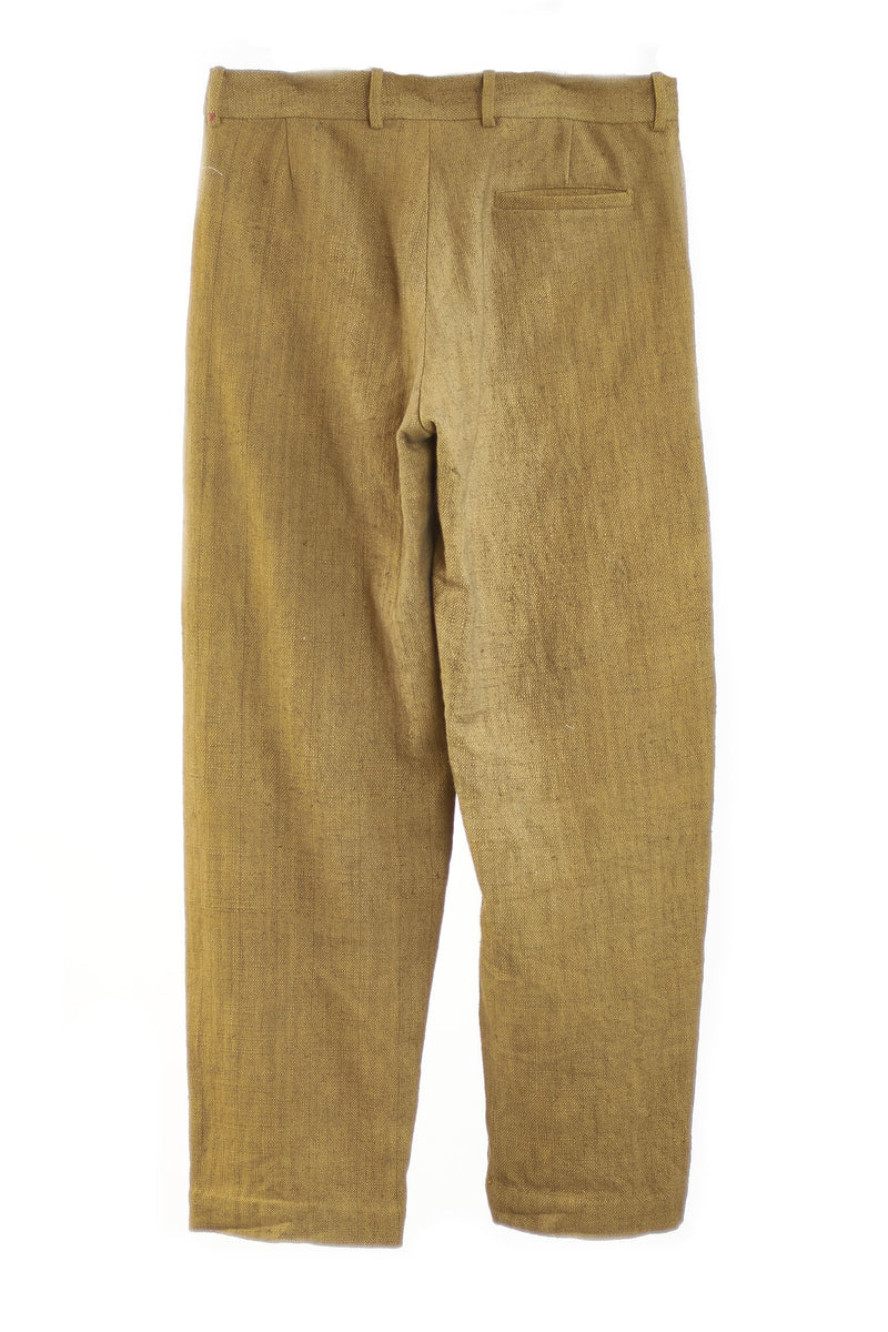 YELLOW MENS TROUSER ORGANIC COTTON