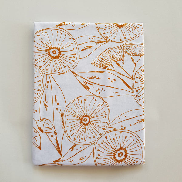 Hand printed organic cotton pillow cases x Printink Studio