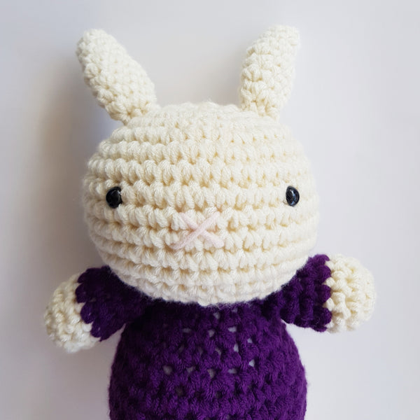 Bruce Bunny : Purple Sweater