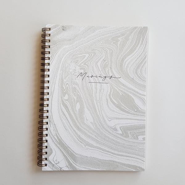 Handmade Journal : Marbled