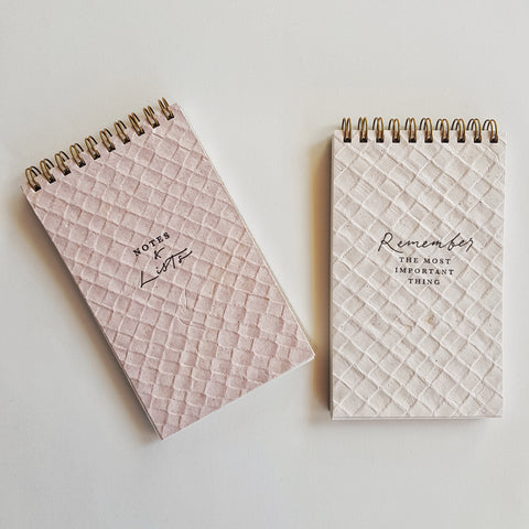Handmade Notebooks : Pressed