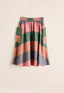 Nancybird Garden Check Skirt