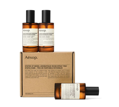 States of Being: Aromatique Room Spray Trio