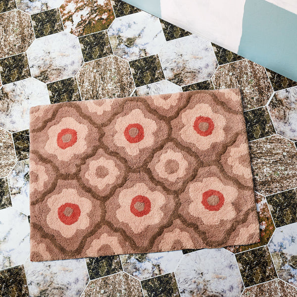 Bath Mat : Marguerite in Clay