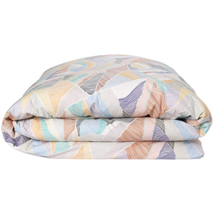 Cotton quilt cover : Boardwalk